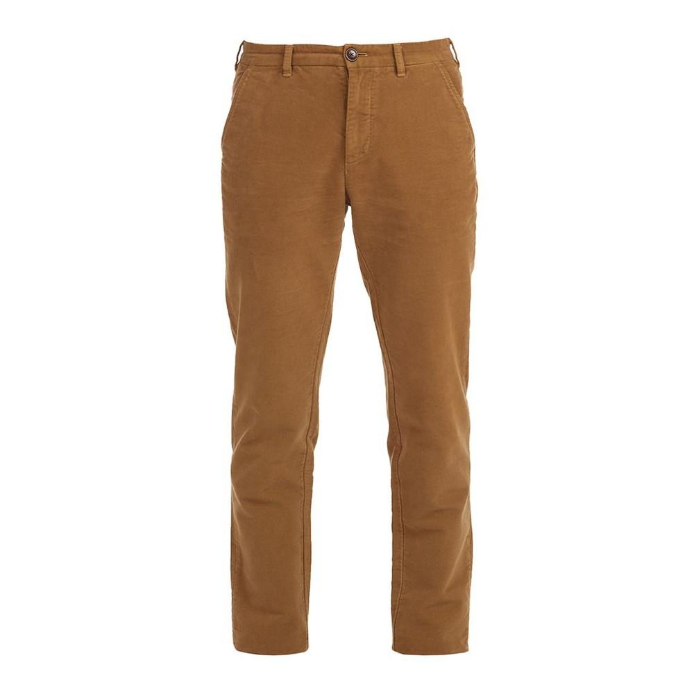 Barbour Neuston Moleskin Trousers Sandstone