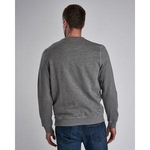 Barbour International Large Logo Sweater Anthracite Marl