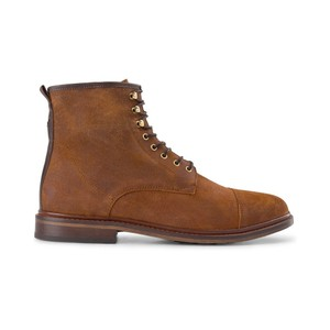 Curtis Suede Lace Up Boot Tan