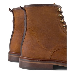 Shoe The Bear Curtis Suede Lace Up Boot Tan