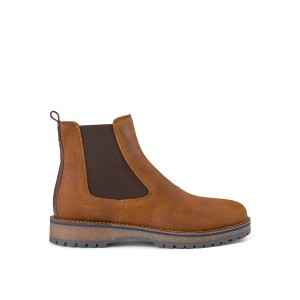 Levan Suede Pull On Boot Tan