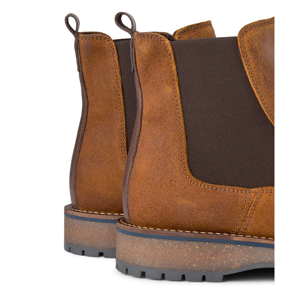 Shoe The Bear Levan Suede Pull On Boot Tan