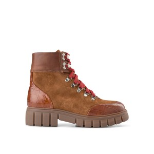 Rebel Hiker Croc Boot Tan