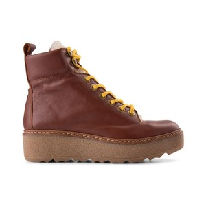 Bex L Platform Hiker Boot Brown