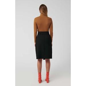 Loreak Brief Belted Wrap Skirt Black