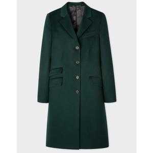 Epsom Coat Petrol Green