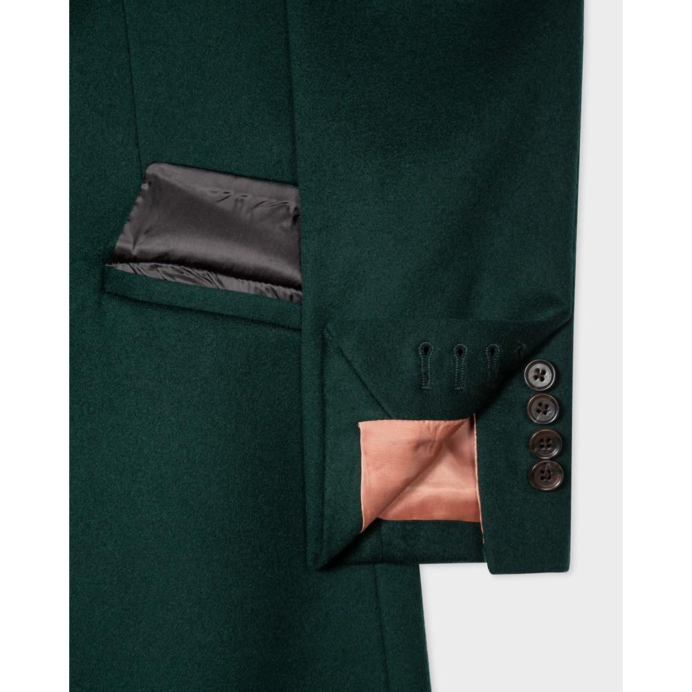 Paul Smith Womens Epsom Coat Petrol Green