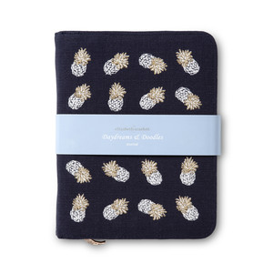 Ananas Notebook Indigo