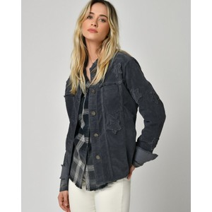 Five Estelle Stars Cord Jacket Carbon