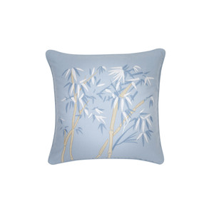 Bambou Cushion -100% Cotton Chambray