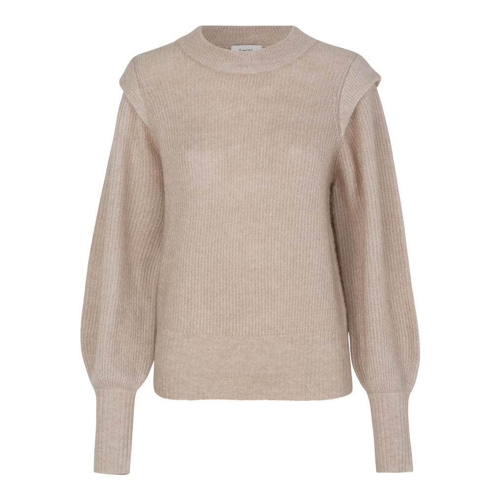 Levete Room Shoulder Layer Ribbed Jumper Tuffet