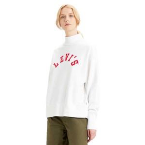 Gardenia Varsity Sweatshirt Off White