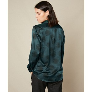 Hartford Corazon Winter Sun Shirt Blue Grey/Black