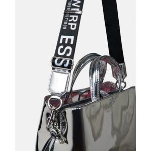 Essentiel Antwerp Walvin Mirror Effect Bag Silver