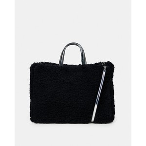 Essentiel Antwerp Wimper Large Fluffy Bag Black