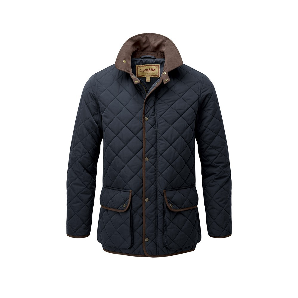 Schoffel Country Barrowden Quilt Jacket Midnight