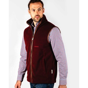 Schoffel Country Oakham Gilet in Claret