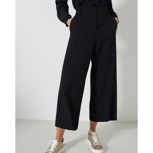 Dallas Wide Leg Trs Black