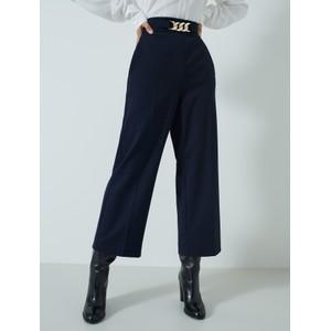 Marella Theodor Wide Leg Trs Navy/Gold