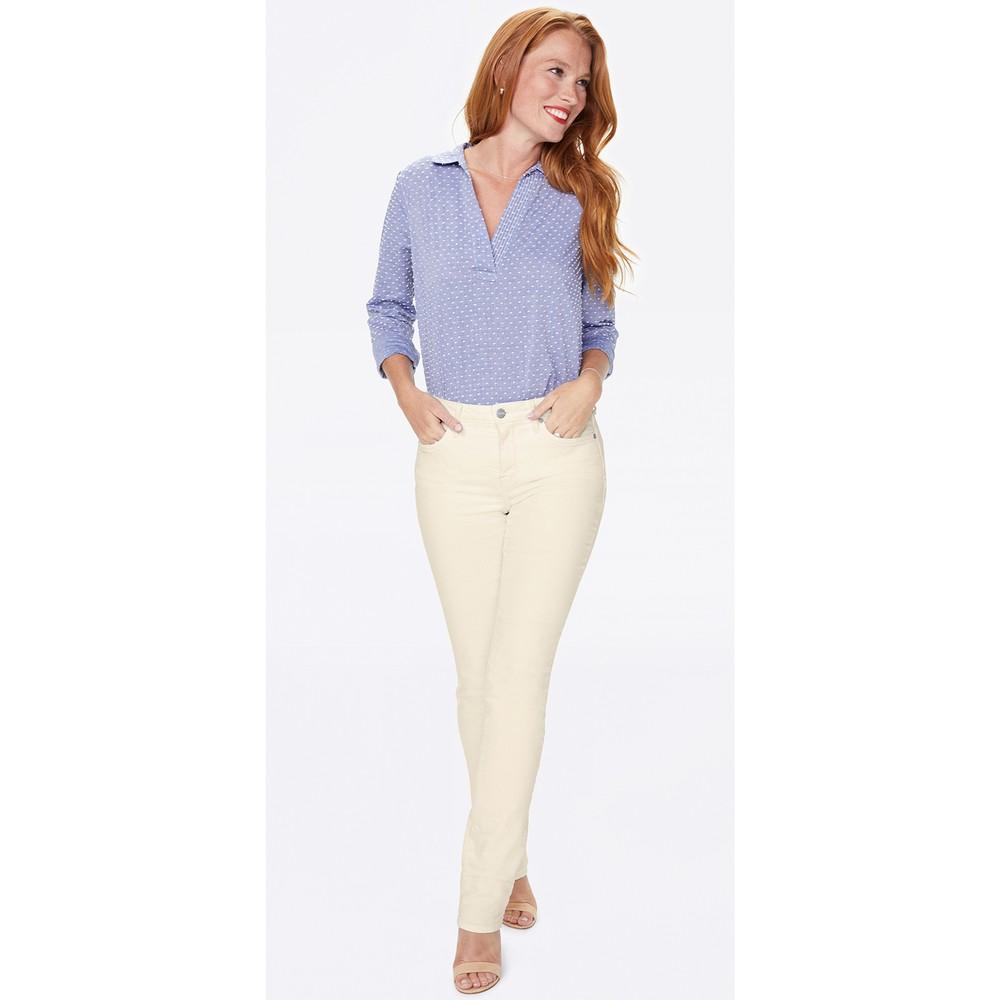NYDJ Sheri Slim Jeans Vanilla