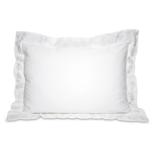 Ananas Cotton Pillow Cases - 2 Pack White