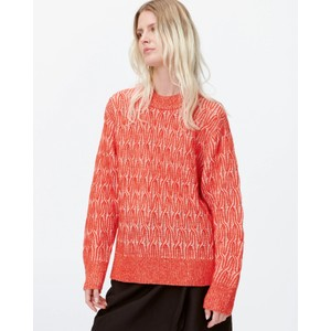 Link R/Nk Alpaca/Wool Knit Red