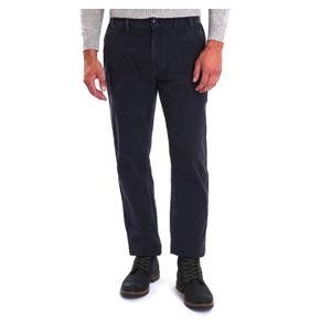 Neuston Stretch Cord Trousers Navy