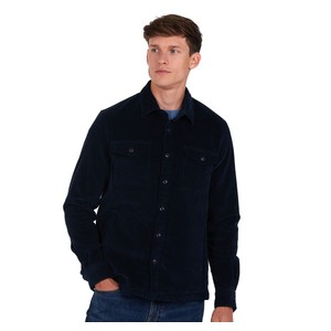 Cord Overshirt Navy
