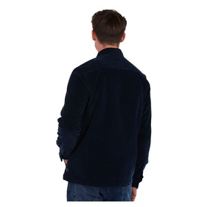 Barbour Cord Overshirt Navy