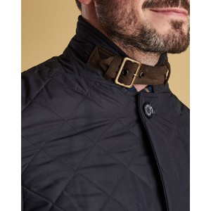 Barbour Quilted Lutz Jacket Navy