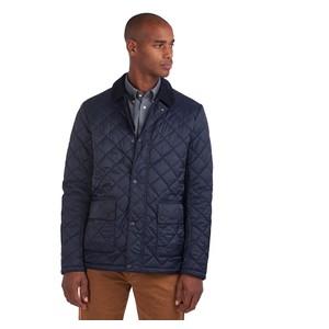 Barbour Diggle Quilt Jacket in Navy
