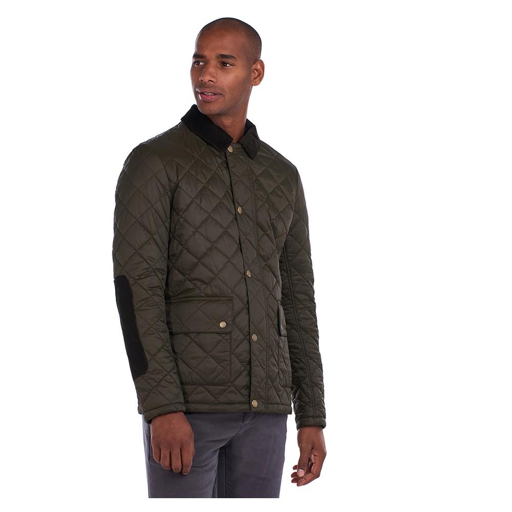 Barbour Diggle Quilt Jacket Olive