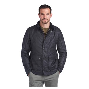 Reelin Waxed Cotton Jacket Navy