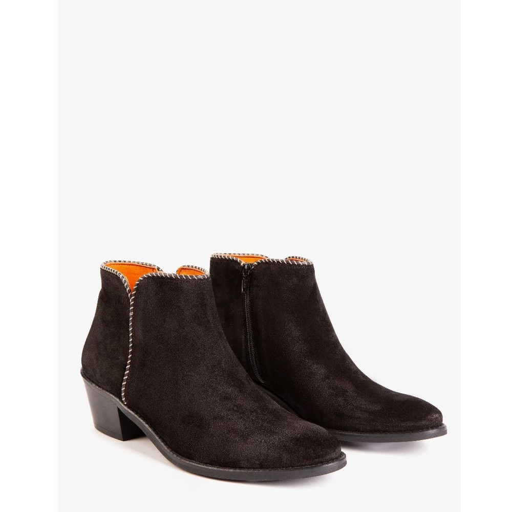 Penelope Chilvers Paco Suede Boot Black