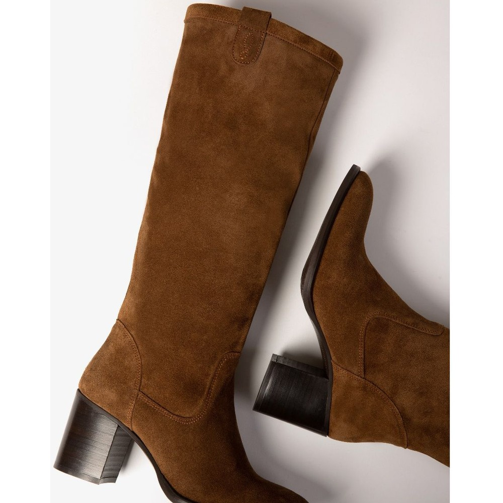 Penelope Chilvers Stevie Suede Boot Peat