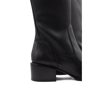 Pons Quintana Miriam Tall Smooth Boot Black