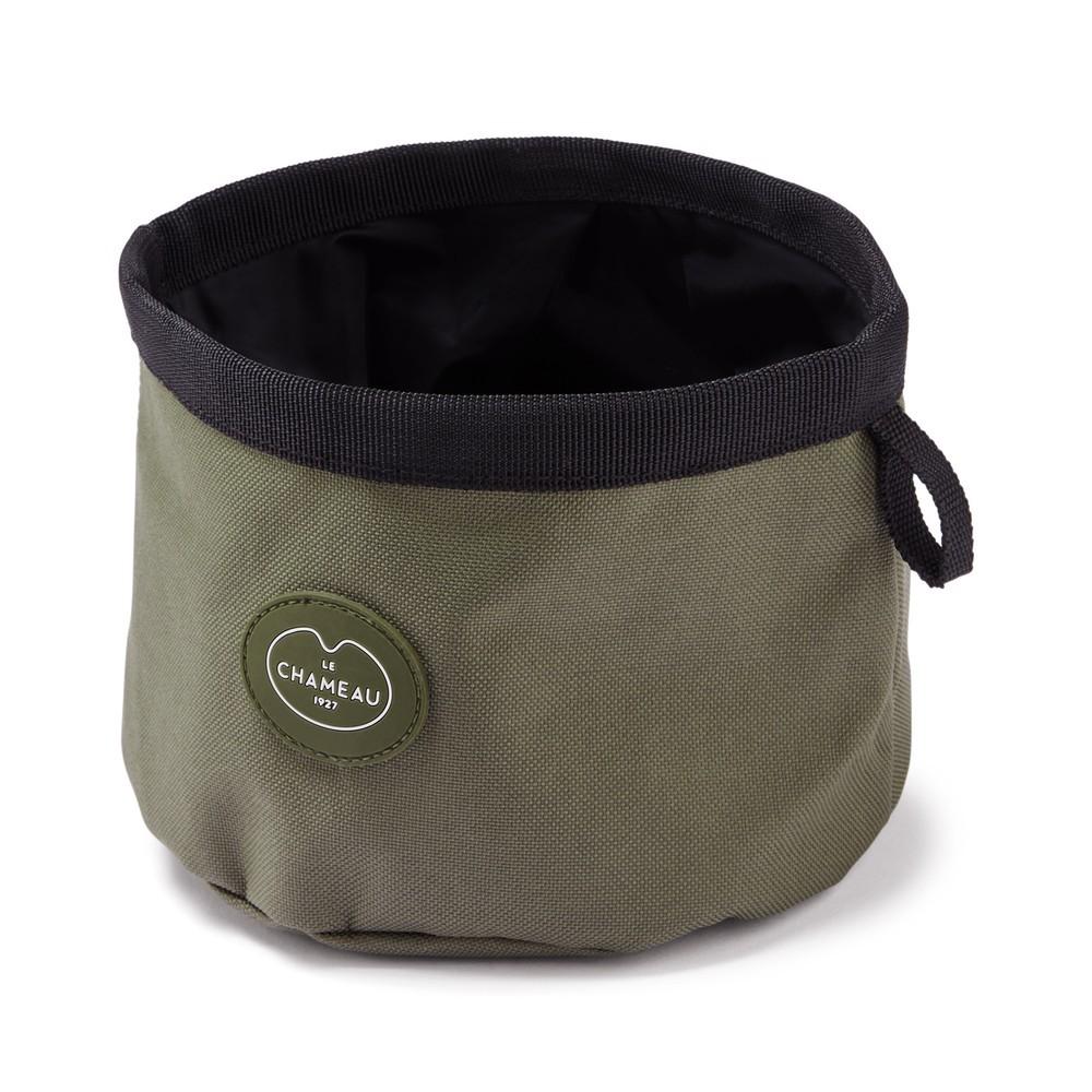 Le Chameau Portable Dog Bowl Vert Chameau