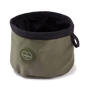 Portable Dog Bowl Vert Chameau