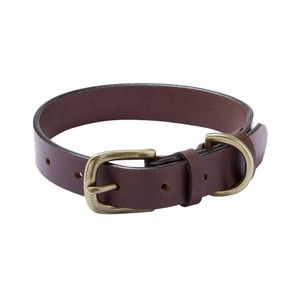 Dog Collar Marron Foncé