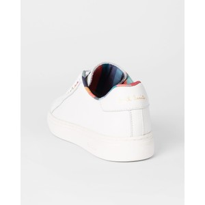 Paul Smith Shoes Lapin Colour Eyelet Trainer White/Multi