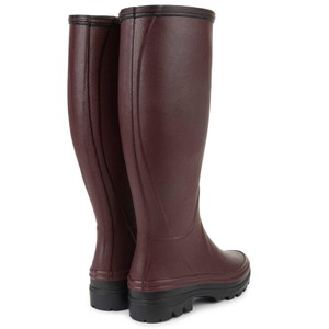 Le Chameau Giverny Jersey Lined Boot Cherry
