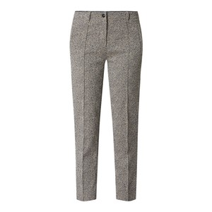 Herringbone Slim Fit Trousers Rocca