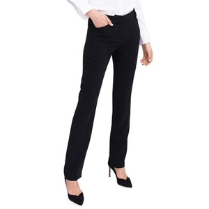 Cigarette Leg Trousers Black