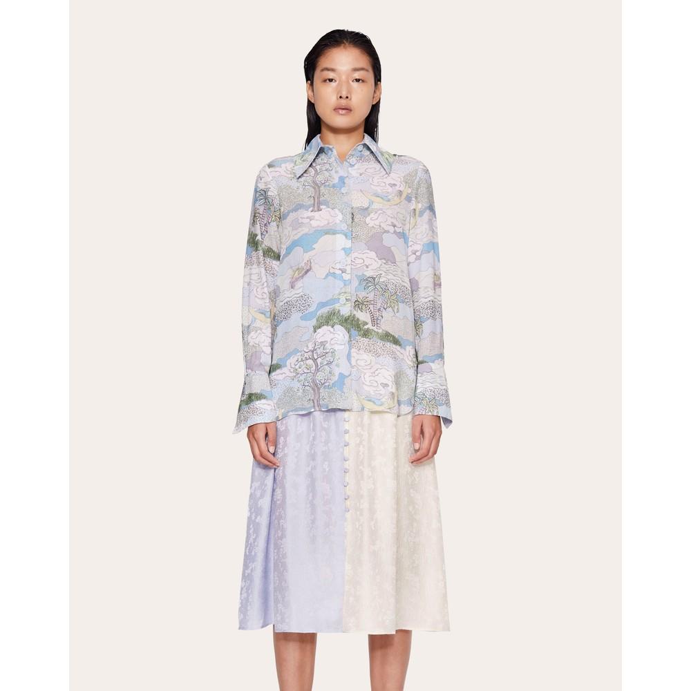 Stine Goya James Dreamscape Shirt Dreamscape Aqua
