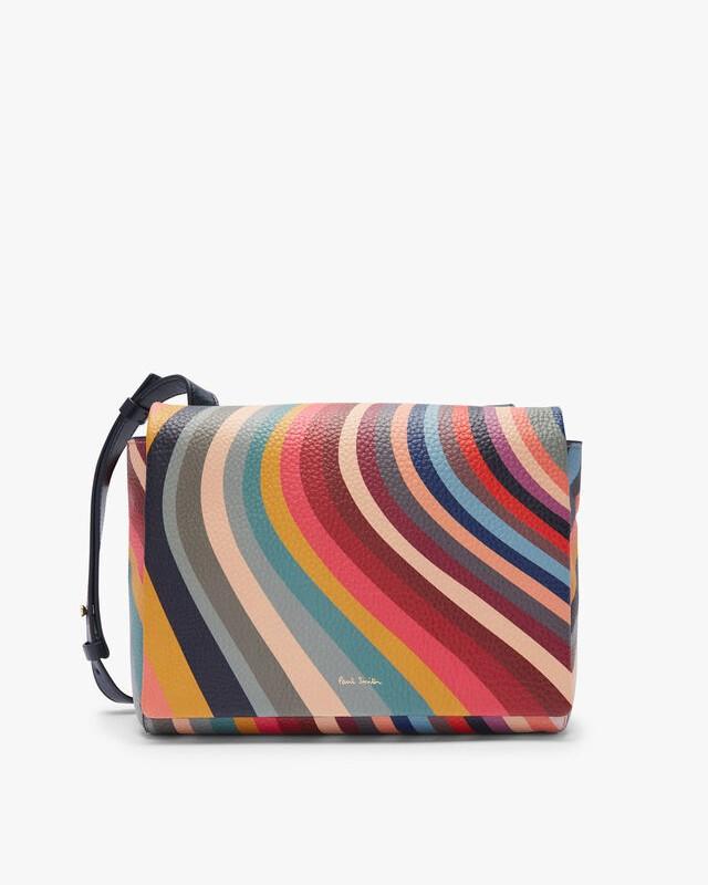Paul Smith Accessories Swirl Med Shoulder Bag Multi