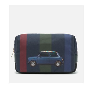 Mini Stripe Canvas Washbag Multi