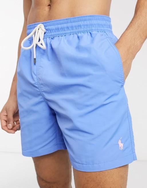 Polo Ralph Lauren Traveller Swim Shorts Harbor Island Blue