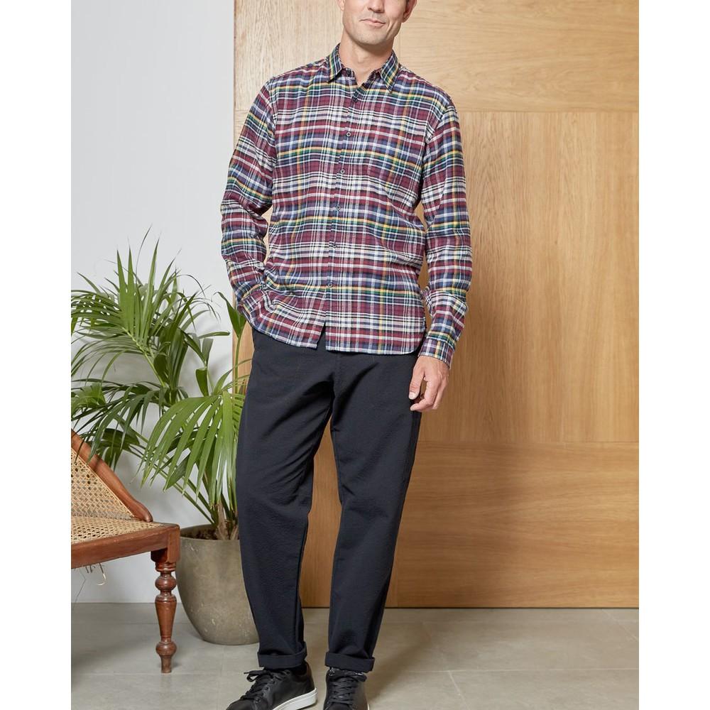 Oliver Spencer New York Check Special Shirt Linnet Multi