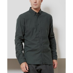 Brook Check Shirt Percy Green