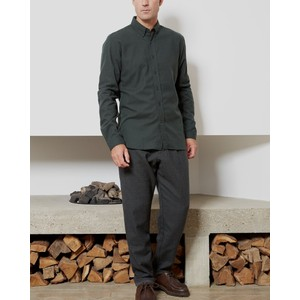 Oliver Spencer Brook Check Shirt Percy Green